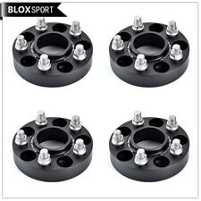 4Pc 35mm 5x114.3 Hubcenric Wheel Spacers CB70.5 for Ford Mustang 14x1.5 Stud