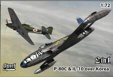 Sword P-80C Shooting Star,  IL-10, Over Korea Markings, in 1/72 72 128 ST