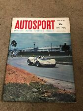 AUG 20 1965 AUTOSPORT vintage car magazine