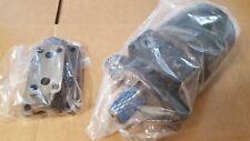 """Fluidyne Hydraulic Motor WF-103-1544 1"""" Shaft & Eaton Manifold Block 123-1007"""