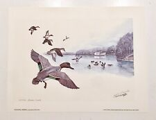 "Jack SCHROEDER ""Turner Creek"" Signed Limited Edition Lithograph PRINT 127/450"
