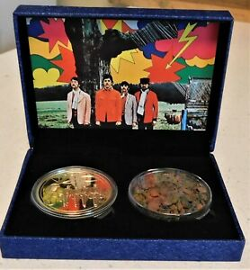 Beatles John Lennon Strawberry Field  Home Boxed Brick and Gold Coin