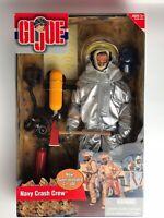 "GI Joe Hasbro Navy Crash Crew 12"" Action Figure(NIB)"