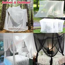Four Corner Camping Mosquito Canopy Net Insect Tent Indoor Outdoor Full Netting