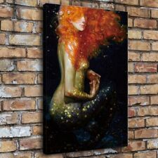 SR103157-Mermaid Series Painting HD Print on Canvas Home Decor Wall Art Picture