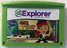 JAKE AND THE NEVERLAND PIRATES Leap Frog Explorer Video Game Cartridge Disney JR