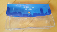 Leighton Denny Around The World Blue Manicure/Pedicure/Cosmetic Bag