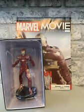 MARVEL MOVIE COLLECTION ISSUE 31 IRON MAN MARK XLVI EAGLEMOSS FIGURINE FIGURE