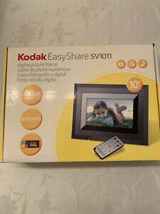 Kodak EasyShare SV1011 10 inch Digital Picture Frame 128MB memory 800x480 pixels