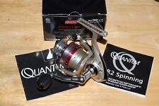 quantum pt accurist ac30 pti 10 bearings fishing spinning reel titanium bail