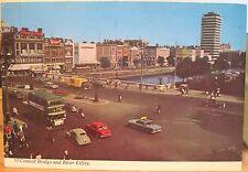 Irish Postcard O'CONNELL BRIDGE & RIVER LIFFEY Dublin Ireland 1970 Jury's Penman