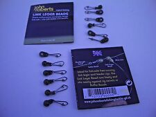 8 x John Roberts Link Leger Beads.Perfect for Carp Leads, Arsley Bombs & Feeders
