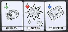 The Black and White Etchings Lenormand Fortune Telling Oracle Cards Deck