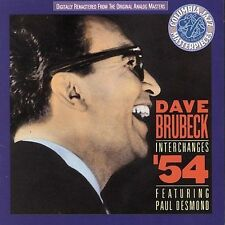 Dave Brubeck Paul Desmond Interchanges 54 CD Columbia Jazz Masterpiece 1991 New