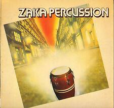 "ZAKA PERCUSSION ""SALSA SEPT CLUB"" AFRO PERCUSSION LP 1980 LE CHANT DU MONDE"