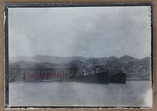 Messine Italie Le départ pour le voyage en Orient Photo originale 9x6,5cm 1909