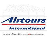 """AIRTOURS International Airlines, Airways Vinyl Sticker, Aufkleber 180mm (7.1"""")"""