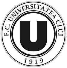 "FC Universitatea Cluj Romania Football Soccer Car Bumper Sticker Decal 4.6""X4.6"""