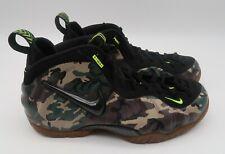 Nike Air Foamposite Pro PRM LE- Mens- Size 8- Green Camo-[587547 300] Basketball