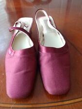 Coloriffics Mauve Slingback Shoes Size 10M