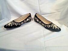 Emma Hopes floral print flat dress shoes - size 8.5