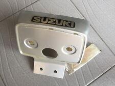 Suzuki TRS Seat Tail Light Cover & Emblem /// NEW