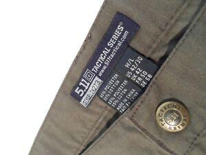 5.11 Tactical Men's Taclite Pro Lightweight Performance Pants Size 42x30 74273