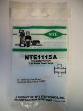 Nte Electronics - Nte115A Nte1117 Nte1128 Nte1140 Nte1154 Nte1155 Nte1160