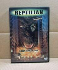 Reptilian (Dvd, 2001, Widescreen) Yonggary 1999 Cult Sci-Fi Movie - Read
