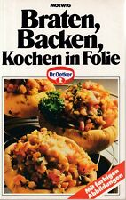 """Serie """"Dr. Oetker Kochbuch"""" Braten, Backen, Kochen in Folie, Moewig 1991"""