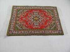 "4""x6"" #93 KK  Dollhouse Miniature 1:12 Scale Floor Carpet  Woven Area Rug"