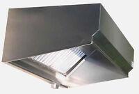 Superior Hoods 6Ft Stainless Steel Restaurant Range Grease Hood NSF NFPA96 - VSE