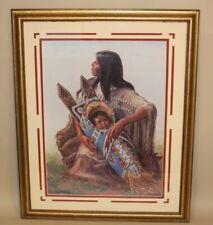 1982 Charles Banks Wilson Pencil Signed Color Lithograph Plains Madonna 437/1500