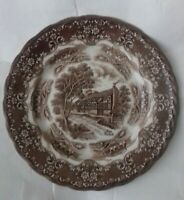 VINTAGE W.H GRINDLEY & CO STAFFORDSHIRE ENGLISH COUNTRY INNS PLATE- THE TALBOT