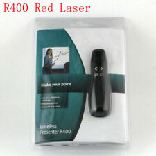 Logitech Professional Presenter R400 Wireless Remote Control With Red Laser