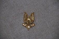 BELGIUM PARA COMMANDO METAL PARACHUTE AIRBORNE BERET BADGE SAS OFFICER #2