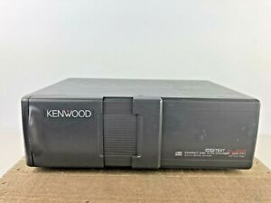 Vintage 1989 KENWOOD Auto 10 Disc CD Changer KDC-C711 PARTS REPAIR - AS IS