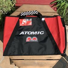 New listing Atomic Ski Bag Red Black Race Economy Checkered Handle Grip New With Tags