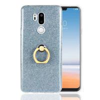 Bling Slim Fit Tpu Case Finger Ring Grip Holder Phone Cover For LG G7 G6 G5 K10