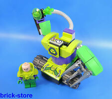 Lego ® Super Heroes personaje/Lex Luthor con robots-vehículo
