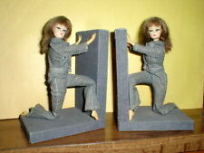 Vintage Barbie Hong Kong Lilli Pair Of Dolls Book Ends