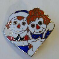 The Bobbs Lapel Hat Jacket Pin By Merrill Co Vintage Enamel 1973 Heart Aviva