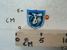STICKER,DECAL APOLLO 10 STAFFORD,YOUNG,CERNAN SHELL SPACE