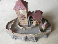 Für Modelleisenbahn H0 Modellhaus Burg Kibri ca 26 x 18 cm