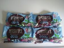 4 Hershey's Solid Milk Chocolate Eggs EASTER LIMITED EDITION Bags 8 OZ Candy