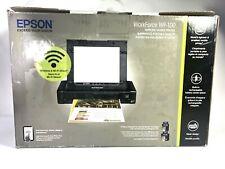 Epson WorkForce WF-100 Wireless Mobile Inkjet Printer work travel on site