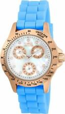 Invicta Speedway 21990 Women's Mother of Pearl Day & Date Analog Watch
