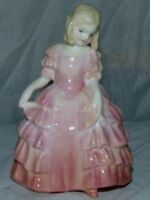 Royal Doulton Bone China Rose HN1368 Lady Figure Lovely Figurine L. Harradine