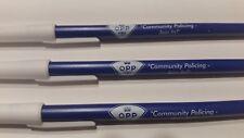 2 NEW Vintage OPP  Ontario Provincial police ballpoint pens Canada