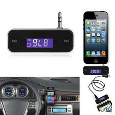 Wireless Music to Car Radio FM Transmitter For 3.5mm MP3 iPod iPhone Tablets WL